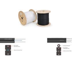 Échantillon gratuit Premium 1 2 4 coeurs FTTH à fibre optique monomode à plat câble de descente