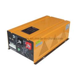 golf van de Sinus van de 4000W24VDC 220VAC 50/60Hz LCD Vertoning de Zuivere van de Omschakelaar van de Macht van het Net met Lader