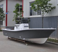 Liya 19метров Panga на лодке из стекловолокна рыболовного судна для продажи