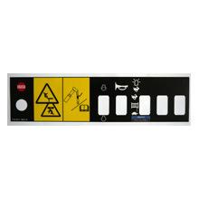 Écran De soie PVC/PET/ PC Plaque signalétique pour Membrance Touch Panel/clavier/icône étiquette/clavier de commande