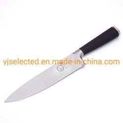 8 pulgadas pesado mango hueco cuchillo del Chef con revestimiento negro manejar