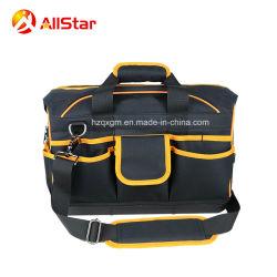 マルチファンクションポリエステル製バッグショルダーバッグ、ハードベース付き オープンマウス用スチールワイヤ