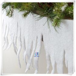 het Wit van 2m schittert de Decoratie van de Rand van de Sneeuw van de Ijskegel