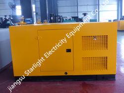 100KW 125kVA Doosan D1146t de mejor calidad de Generador Diesel en silencio la generación de tipo ISO 8528