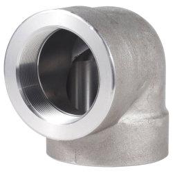 Uguale filettatura in acciaio inox SS316 304 da 1/2 pollici a 90 gradi Gomito