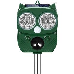Openlucht Zonne Aangedreven Afstotend Ultrasoon Dierlijk Afweermiddel met de Sensor van de Motie voor Honden, Katten, Vogels, Vossen