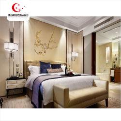現代ハンプトンのインのホテルの家具のベッド部屋の家具の寝室セットのホテル