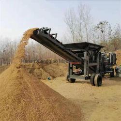 Унг 30-200подвижного колеса стиле камнедробилка камня дробилка песок бумагоделательной машины