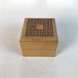 Bambù legno artigianale Incense Stick Holder inserito incenso in legno Scatola