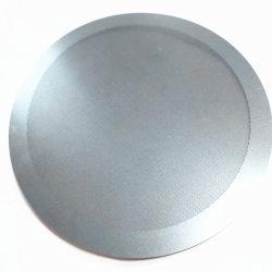 Resistente a la corrosión química metálica perforada de acero inoxidable grabada para el filtro de malla