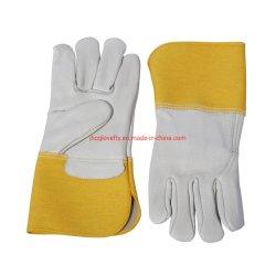 De veiligheid Gloves de Volledige Handschoen van het Werk van het Leer, die Handschoenen lassen