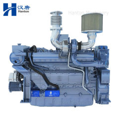 Motore diesel marino WD12 di Weichai per propulsione della barca