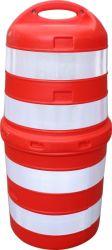 LDPE durables Jiachen 1000mm en plastique du tambour de trafic