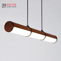 fait sur mesure post-moderne en métal avec restaurant de l'éclairage de la suspension lustre acrylique