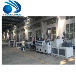 Le plastique PET PE granules de PVC WPC Usine de fabrication de matériel le bouletage Machine