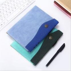 [أ5] صنع وفقا لطلب الزّبون مفكّرة عمل [نوتبد] مكتب اجتماع [مينوت بووك] [أ5] جلد تغطية يومية