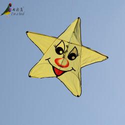 Exterior moderno de la sonrisa de juguete Pentagram Kite para niños