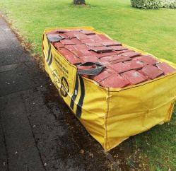 Утилизация больших строительных отходов сад в мусорных корзинах Jumbo Frames пропустить PP мешок