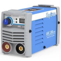 Mini-ARC-200 Keygree Top-Sale Multi-Process AMP MMA/lever de TIG DIY 1pH 110V 220V IGBT petit portable inverter welding Machine
