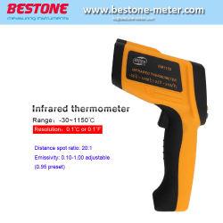 Di Infrared GM1150 dell'affissione a cristalli liquidi della pistola vendibile della visualizzazione dell'acqua termometro industriale della sonda di Digitahi in linea