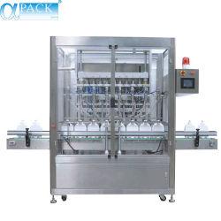 Êmbolo totalmente automático 4/6/8 Multi-Head Paint/bebidas/Purificador de Água Potável//garrafa/cápsula de café máquina de embalagem embalagens/enchimento (AFLS-840/860/880)