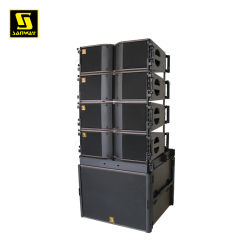 Kara Double Actif Passif de 8 pouces Powered intérieur extérieur Système de sonorisation enceinte de line array caisson de grave de line array sb18