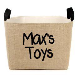 Cestino decorativo per memoria del giocattolo dell'animale domestico