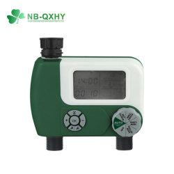 2アウトレット電気水タイマーのガーデン・ホースのデジタル水タイマー