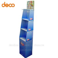 متجر البيع بالتجزئة ذو الجودة العالية 3-Tiers وحدة الخطاطيف الإعلانية المضلعة