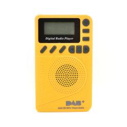 Zak DAB Digital Radio met MP3 DAB/DAB+ Receiver Bandiii: 170-240MHz FM: 87.5-108MHz TF MP3 Playerlcd de Tijd die van de Slaap van de Vertoning het Vooraf ingestelde Plaatsen van de Post plaatsen