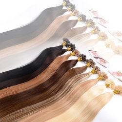 Keratin Hair Extension droites, U Astuce Pre-Bonded pointe sèche cheveux Ongles