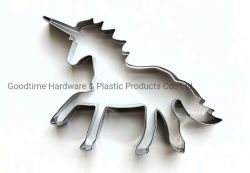 Unicorn Forma de Aço Inoxidável cortador de biscoito cortador de biscoito