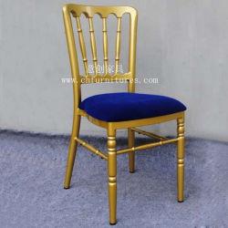 Cadeira de casamento com almofada confortável azul (YC-UM40-02)