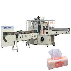 De automatische Verpakkende Machine van het Papieren zakdoekje van de Stroom Natte