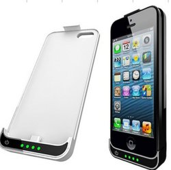2200mAh External Backup Battery Charger Retail Case voor Apple iPhone 5 5s 5c