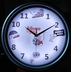 Neonborduhr der LED-rückseitige Beleuchtung-Clock/LED/Förderung-Geschenk