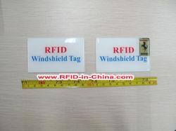 인쇄용 패시브 UHF RFID 윈드실드 태그