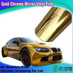 2013 воздушный канал Chrome виниловая пленка, золото хром пленка