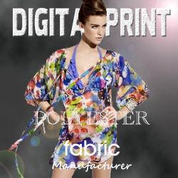 디지털에 의하여 인쇄되는 폴리에스테 직물