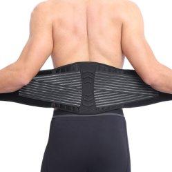 人ストラップの調節可能な通気性の背部ウエストサポート