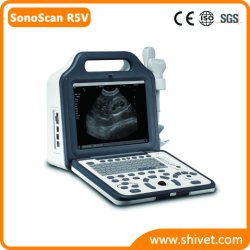 De draagbare Veterinaire Scanner van de Ultrasone klank (SonoScan R5V)