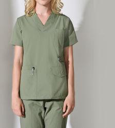 Vêtements de coton uniformes de Scrub Medical