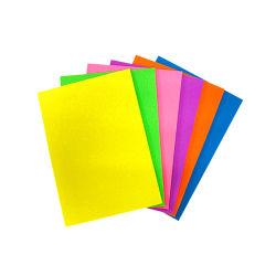Яркий флуоресцентный Блестящие цветные лаки из пеноматериала EVA Sheeet для детей в ремесленных мастерских