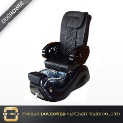 Equipamento de pregos em mármore Manicure portátil com uma cadeira de massagem