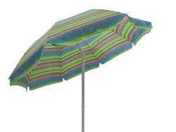 Seitliches Pole-Polyester-fördernder im Freiengarten-Strand-Regenschirm (U5026)