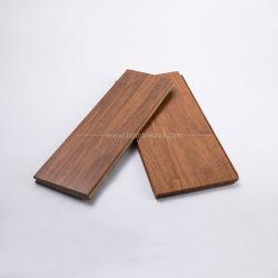 La horizontal de color natural suelos de bambú para interiores