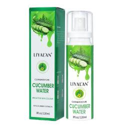 OEM Hete GezichtsToner van het Water van de Komkommer van de Uittreksels van de Installatie van de Hydratie van Producten 2020 Diepe Organische Nevel