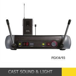 Pgx14/Wl93 UHFクリップ無線マイクロフォンの音声の受信機