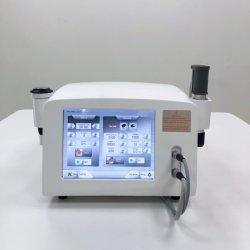 El ultrasonido la terapia de onda de choque de la máquina de recuperación de lesiones deportivas