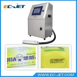 Ononderbroken Ink-Jet Printer die Vervaldatum voor Schoonheidsmiddelen merken (EG-JET1000)